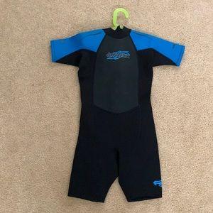 NEW hyperflex 2.5 mm. Shorty spring wetsuit